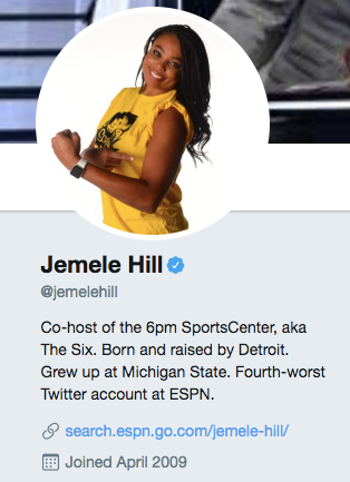 Jemele Hill, ESPN