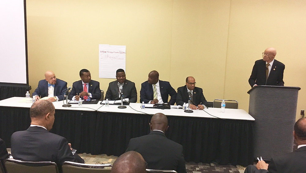 HBCU presidents panel at the 2017 Alpha Phi Alpha General Convention