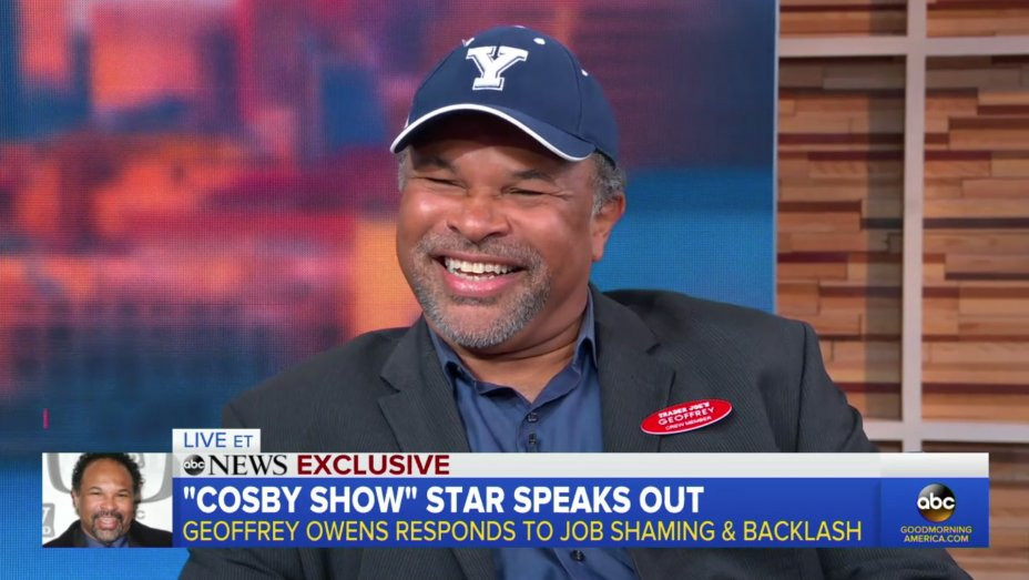 Geoffrey Owens courtesy of the Hollywood Reporter