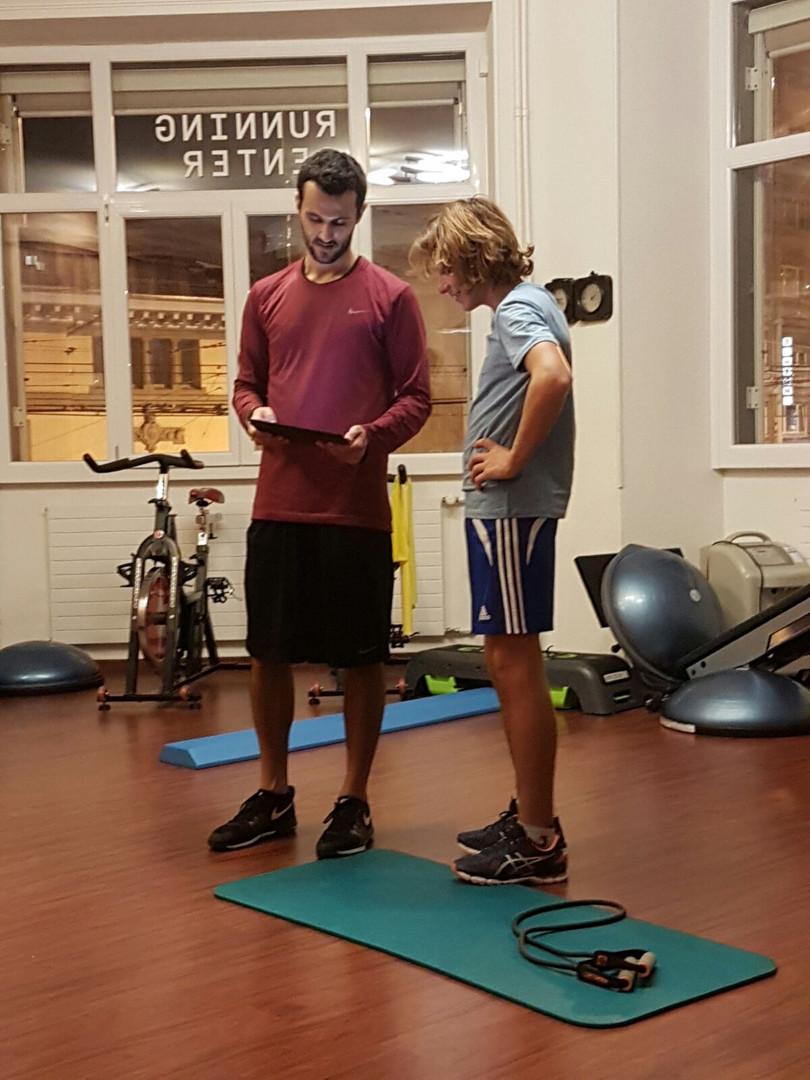 Maxime Chabloz & Antoine Borgeaud - Préparation physique - Planification de l'entrainement