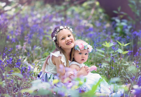 children Bluebells