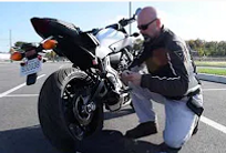 Yamaha MT-07, Kawasaki Ninja, Triumph Street Triple, and other sportbikes - Video showing how fast and easy it is to install the Shrike Mounts system.