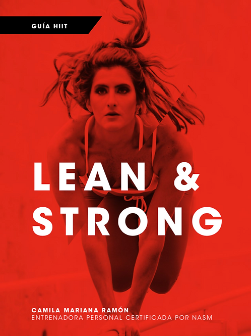 Guía Lean and Strong HIIT