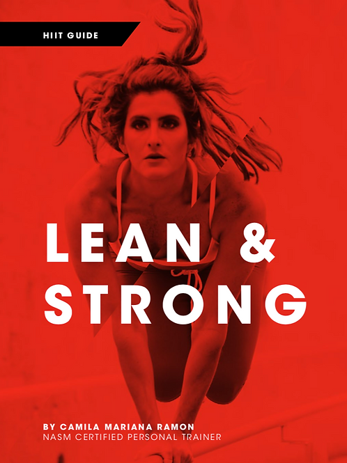 Lean and Strong HIIT Guide