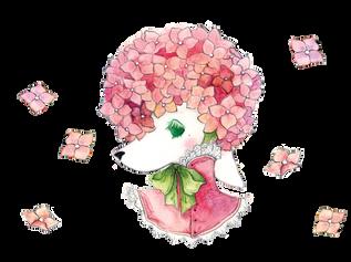 Hera the Hydrangea Fairy Pup