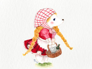 April the Little Red Riding Hood Fairy