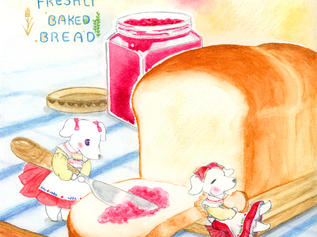 Jam & Berry's Homemade Bread