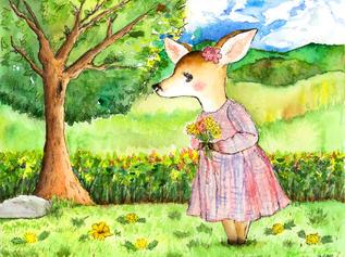 Flora the Flower Deer