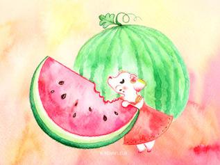 Melly the Watermelon Fairy