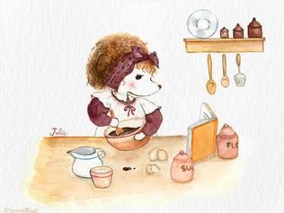 Julie's First Baking