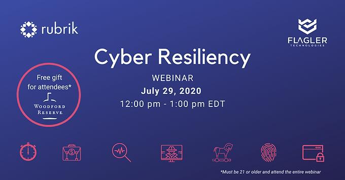 Cyber Resiliency Webinar | Rubrik