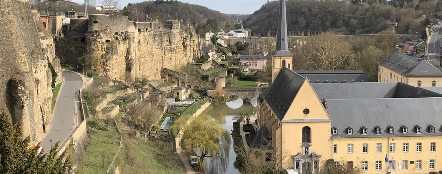 Vue panoramique sur Luxembourg