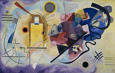 Wassily Kandinsky_Jaune rouge bleu_1925.
