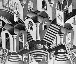 Maurits Cornelis Escher_Convexe et conca