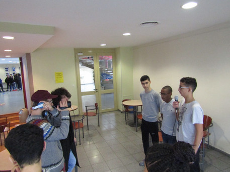 Interviews d'élèves