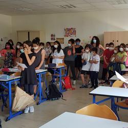 La classe d'allemand de Mme Pecqueux