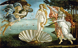 Sandro Botticelli_La naissance de Venus_