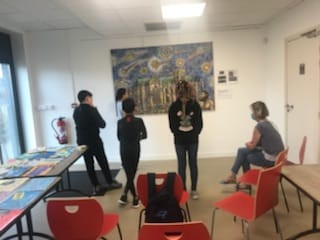 Atelier d'improvisation avec Mme Tricot