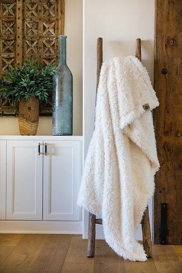 Whisper White Guardian Angel Blanket