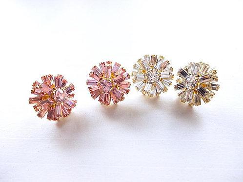 Flavie Crystal & Light Rose