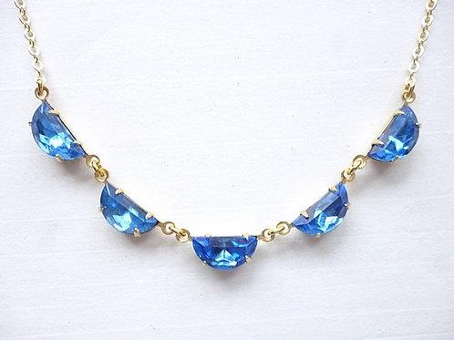 Half Moon Sapphire