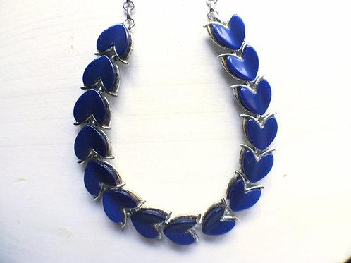 CORO Blue Heart Necklace