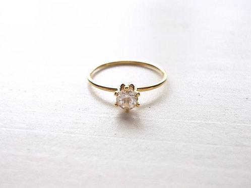 White Topaz Ring(b)