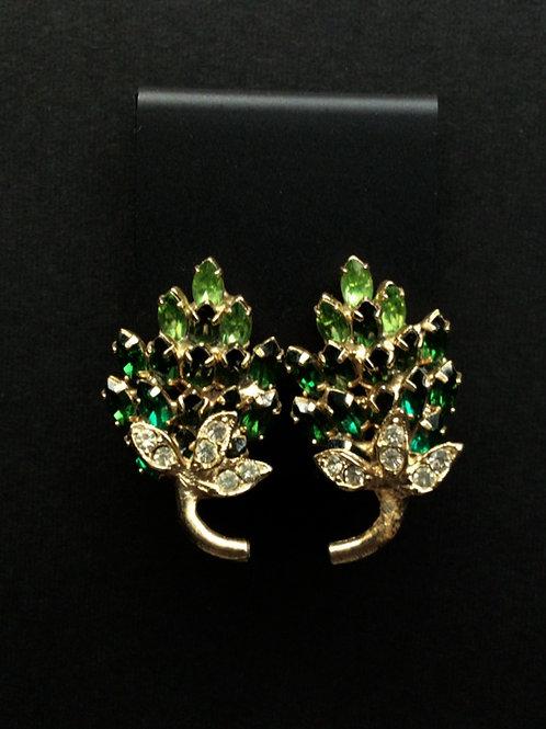 Napier Leaf Earring