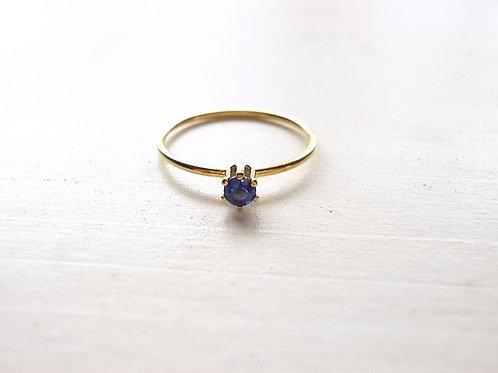 Blue Sapphire Ring(a)