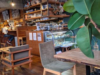 地元の唯一のお洒落カフェ