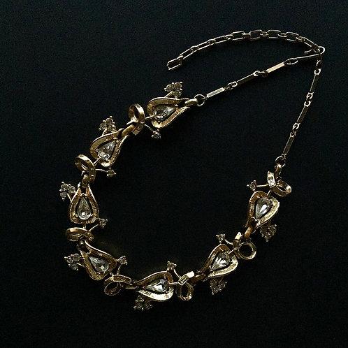 Unsigned Teardrop Necklace