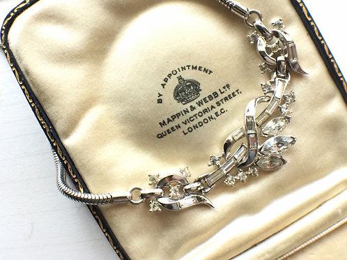 Trifari Rhinestone Necklace