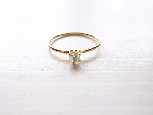 White Topaz Ring(a)