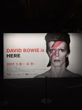 「David Bowie is 」展
