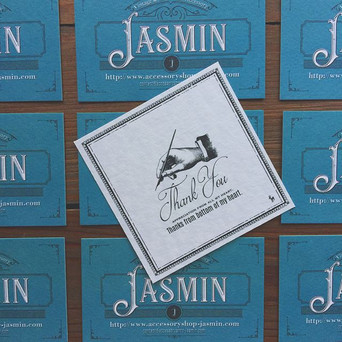 Jasminの新しいカード