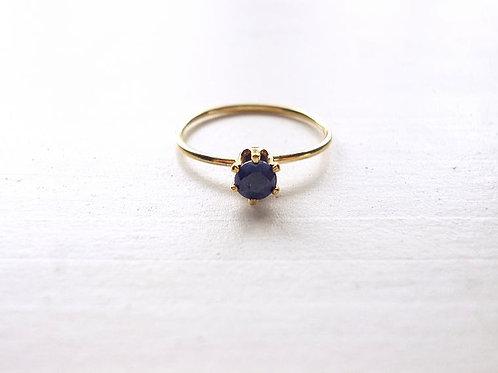 Blue Sapphire Ring(b)