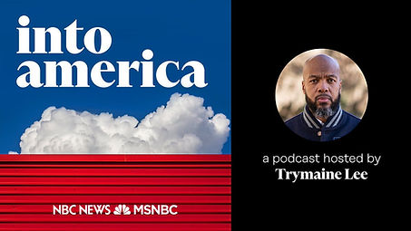 Into America Podcast Trymaine Lee Image.
