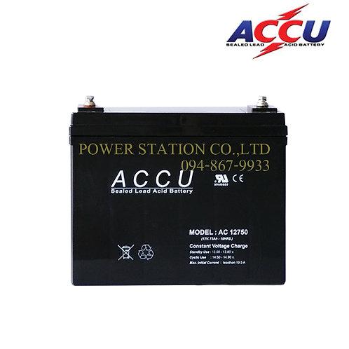 AC 12750 (12V. 75Ah.)