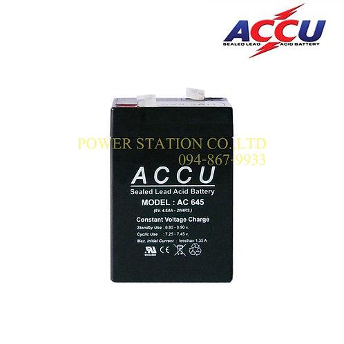 AC 645 (6V. 4.5Ah.)