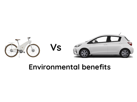 Electric bike vs car: The environmental benefits of using an electric bike instead of a car