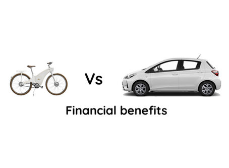 Electric bike vs car : The financial benefits of using an electric bike instead of a car