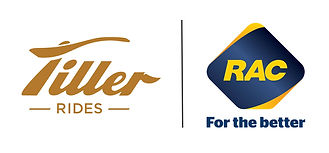 The Tiller Rides and RAC WA logos