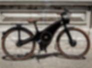 The Tiller Rides Roadster bike frame