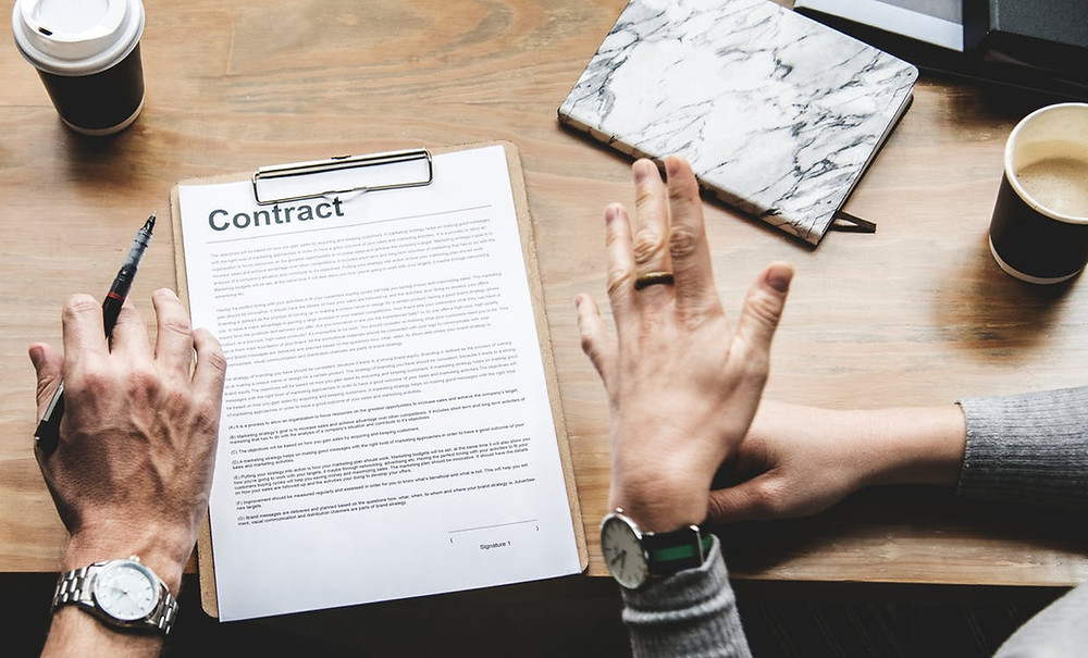 Breach of Contract is an example of civil case