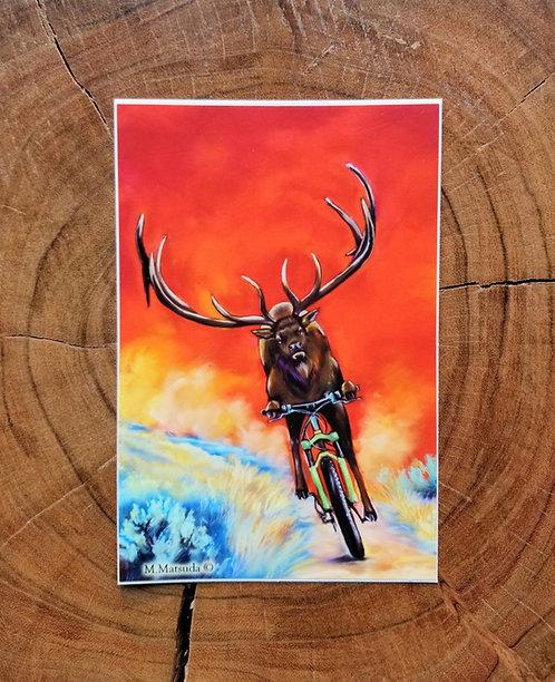 Sticker - Bike Rack