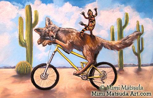 Gila Hitches a Ride  #11C