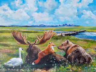 Original up for auction - Fundraiser for the Friends of Harriman State Park