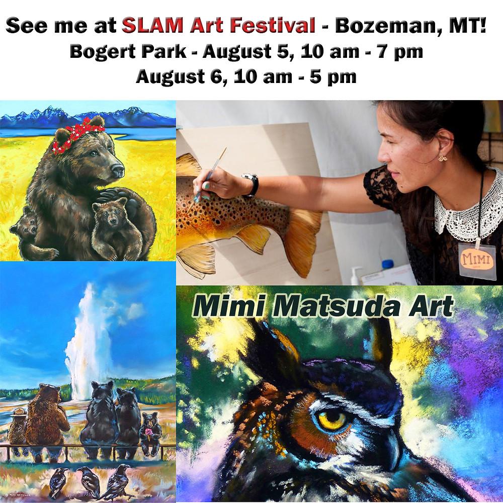 Come see me at SLAM Art Festival