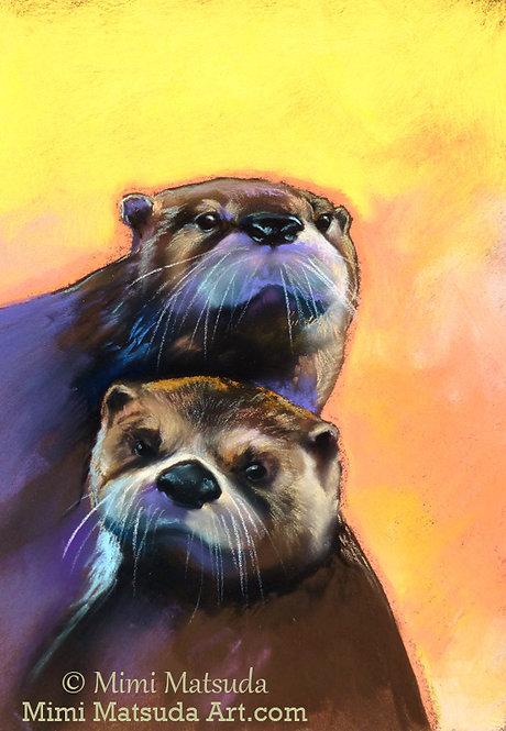 Otters #C15