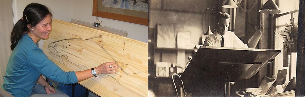 Mimi Matsuda and Great grandfather William Muir
